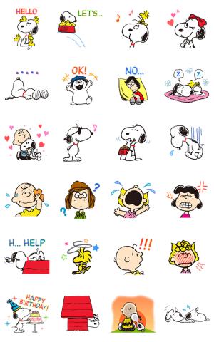 【半額セール】SNOOPY★アニメスタンプ(2017年11月28日AM10:59まで)