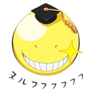 【日替半額セール】しゃべる!うごく!暗殺教室 スタンプ(2017年11月17日分)