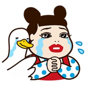 【無料スタンプ速報】人気芸人×アフラックコラボスタンプ(2016年08月15日まで)