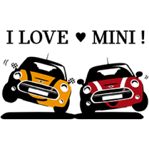 【無料スタンプ速報】MINI Japan公式スタンプ(2016年09月19日まで)