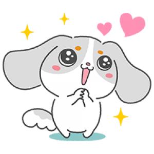 【無料スタンプ速報】まろが可愛いファッピースタンプ♪ スタンプ(2016年08月22日まで)