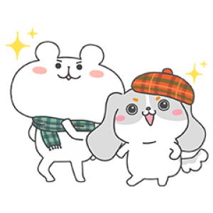【無料スタンプ速報】ファッピー×ゆるくま★コラボスタンプ(2016年11月21日まで)