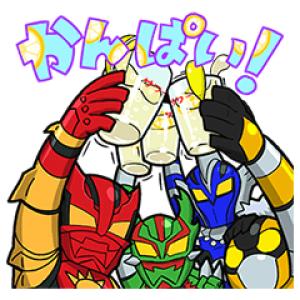 【無料スタンプ速報】飛び出す!EXILE TRIBEスタンプ(2016年11月21日まで)