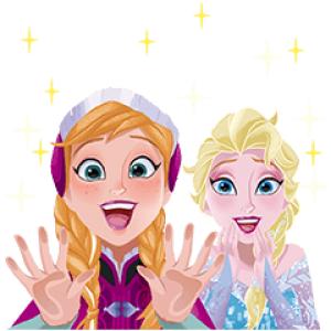 【半額セール】アナと雪の女王 ポップアップスタンプ