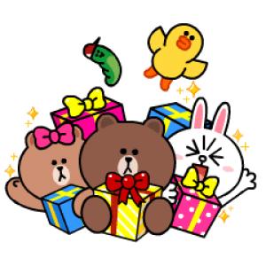 【無料スタンプ速報】LINE Characters with SMART PARTY スタンプ(2017年05月07日まで)