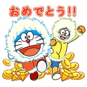 【無料スタンプ速報】LINEバブル2×映画ドラえもん2017 スタンプ(2017年04月03日まで)