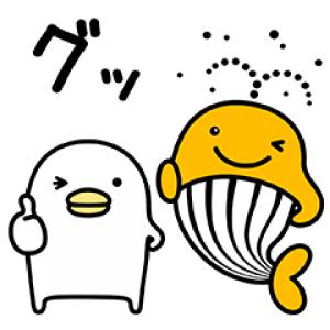 【無料スタンプ速報】宝くじクーちゃん×うるせぇトリ スタンプ(2017年06月05日まで)