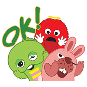 【無料スタンプ速報:隠し無料スタンプ】LINEポコポコ×ガチャピン・ムック スタンプ(2017年07月30日まで)