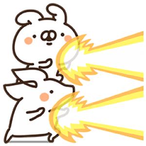 【無料スタンプ速報】山田まぽん×ジョブーブ スタンプ(2017年10月09日まで)