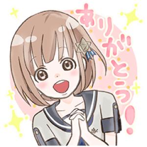 【無料スタンプ速報:隠し無料スタンプ】流星イニシャライズ 〜1/5の恋人〜 スタンプ