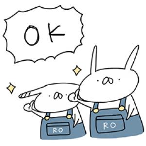 【無料スタンプ速報】うさぎ帝国×ライトオンコラボスタンプ(2017年11月20日まで)