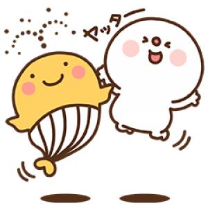 【無料スタンプ速報】宝くじクーちゃん×だいふく スタンプ(2017年12月11日まで)